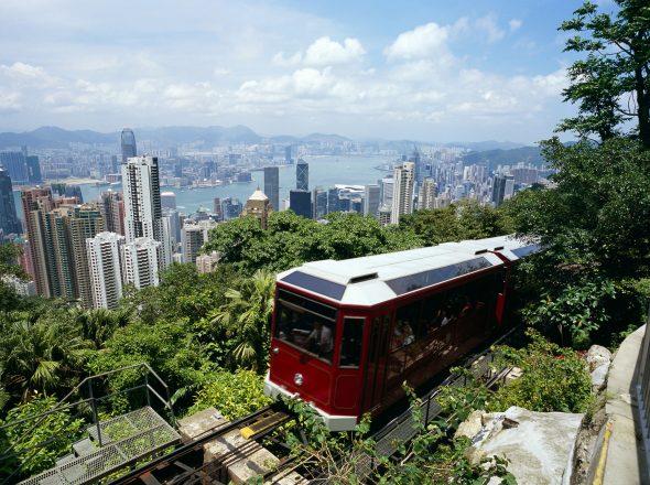 Victoria Peak - et must når du er i Hong Kong