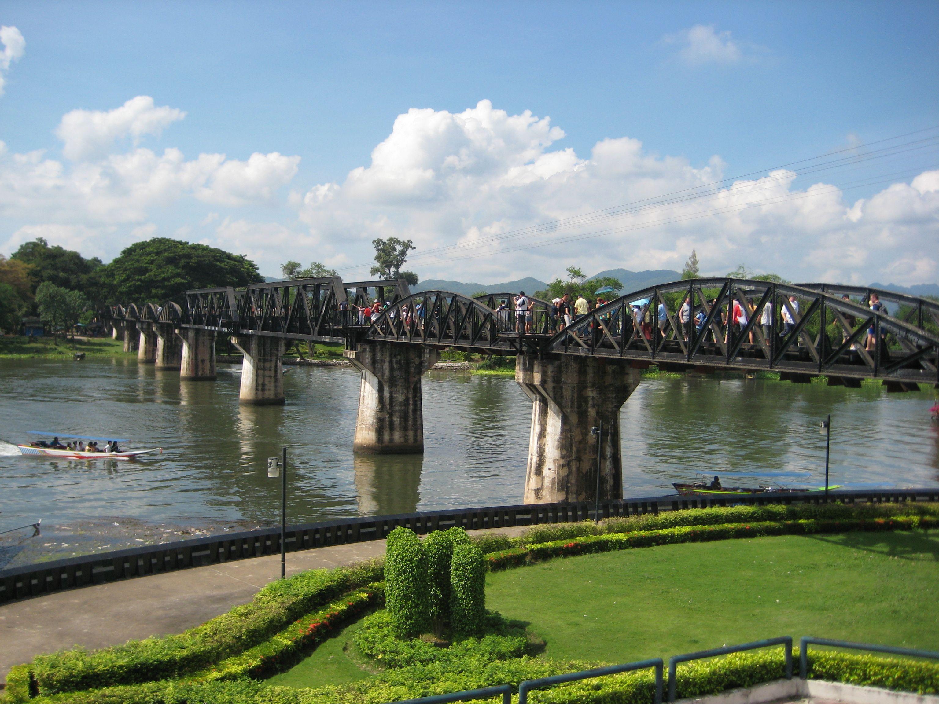 broen over kwai kart Broen over Kwai   OrkideEkspressen