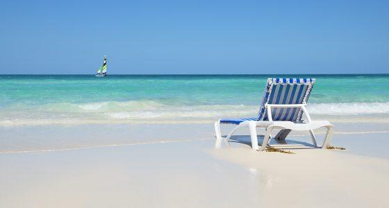 strand og hav på Cayo Santa Maria Cuba