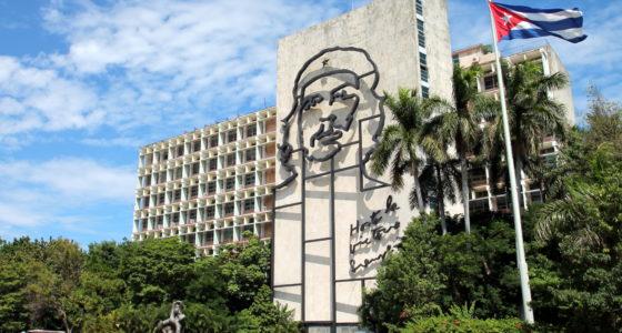 Havana revolusjonsplassen Che Guevara - OrkidéEkspressen