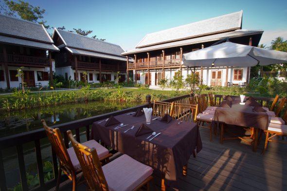 restaurant Sanctuary Hotel, Luang Prabang