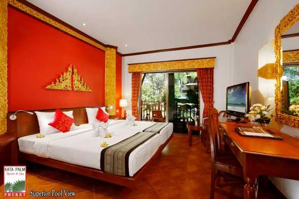 Superior Pool View - Kata Palm - OrkideEkspressen