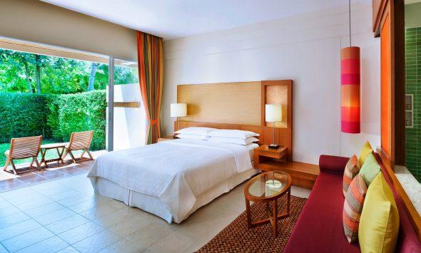 Deluxe Garden Terrace King Room - Sheraton Hua Hin Resort & Spa - OrkideEkspressen