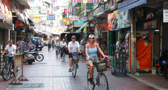 Sykkeltur Bangkok