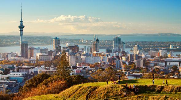 Auckland, New Zealand - OrkidéEkspressen