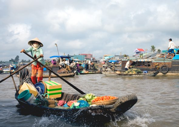 Mekongdelta, Vietnam - OrkidéEkspressen