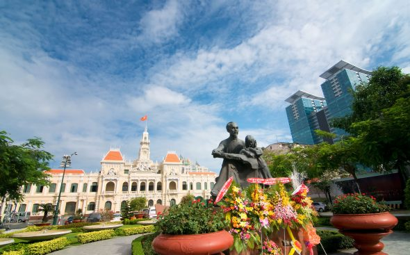 THo Chi Minh City, Saigon, Vietnam - OrkidéEkspressen