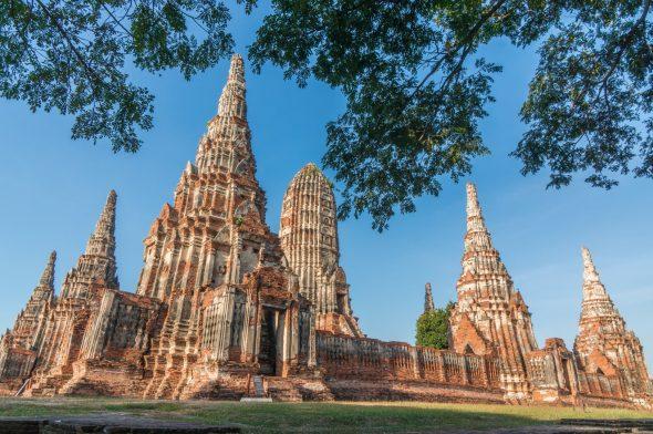 Wat Chaiwatthanaram, Ayutthaya.