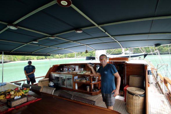 Boutique Yachting Naga Samui båttur seiltur