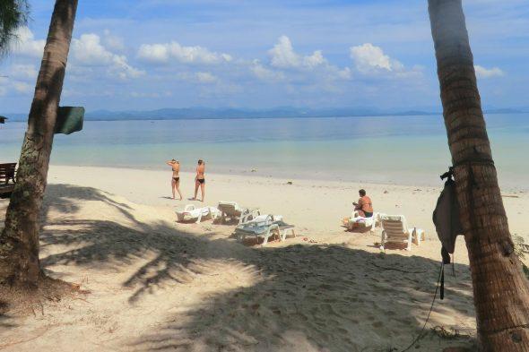 Stranden på Koh Talu.