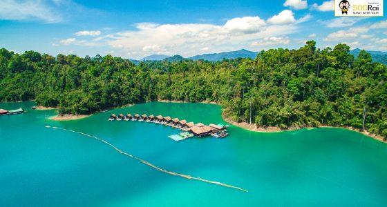 500 Rai Floating Resort er et flytende hotell