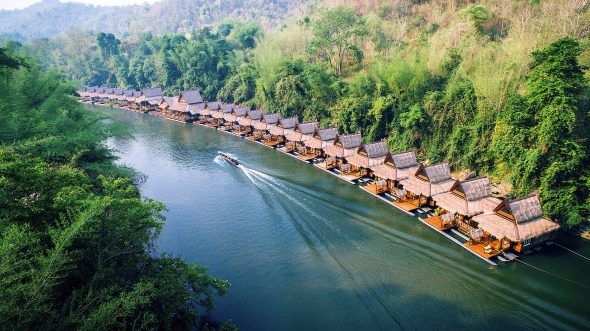Float House River Kwai - OrkideEkspressen