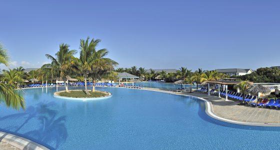 hotellbasseng Melia Las Dunas på Cuba