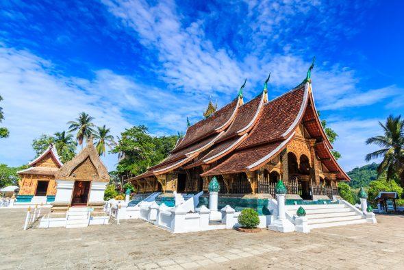 Vat Xieng Thong i laos