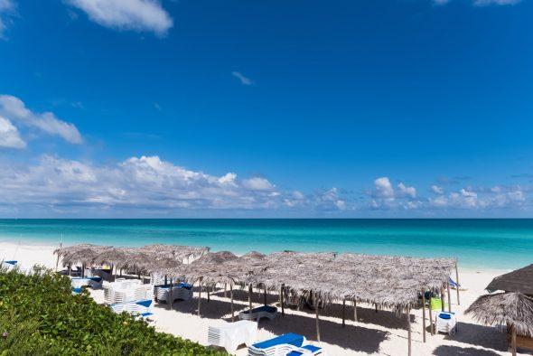 en strand på Cayo Santa Maria på cuba
