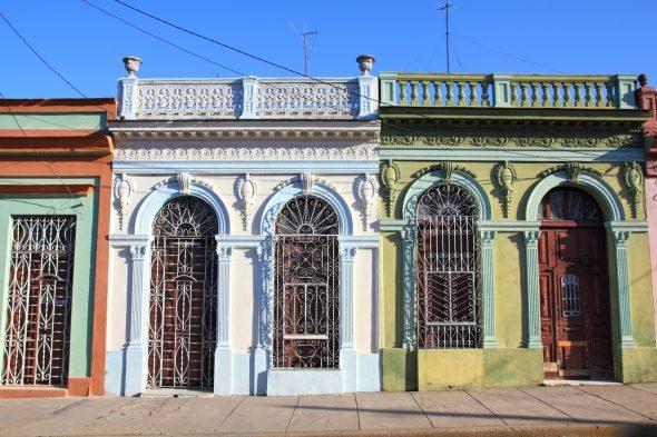 fargerik fasade Cienfuegos