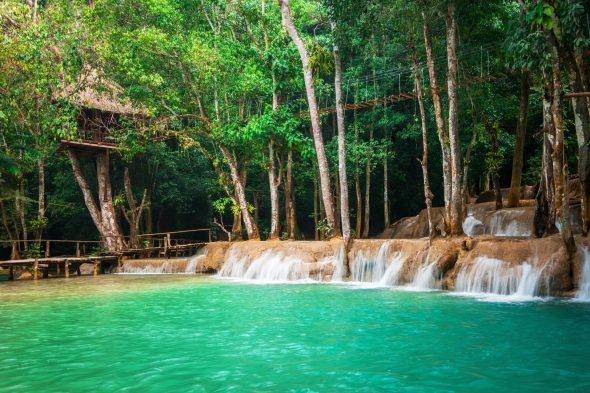 lagune i kuangsi laos