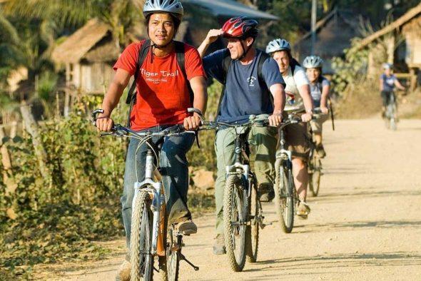 sykkeltur laos