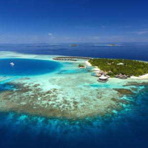 baros fra en reise til maldivene